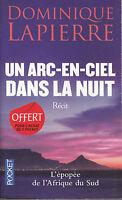 Livre de poche un arc-en-ciel dans la nuit Dominique Lapierre book
