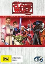 Star Wars - The Clone Wars - Animated Series : Season 2 (DVD, 2010, 4-Disc Set)