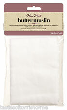Kitchen Craft 100% Cotton 90cm Square Butter Muslin Cloth - Straining Jam Jelly