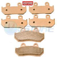 Rear Sintered Brake Pads For Honda GL1100 A Goldwing Aspencade 1100 82-83