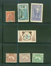 21 old stamps from French Madagascar all different unused & used