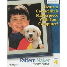 Hobbyware Pattern Maker Cross Stitch Software -Professional Version - 072594