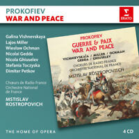 Sergei Prokofiev : Prokofiev: War and Peace CD 4 discs (2017) ***NEW***
