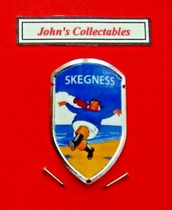 COLLECTABLE SKEGNESS WALKING / HIKING STICK BADGE / MOUNT  NEW IN PACKET