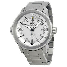 IWC Aquatimer Automatic Silver Dial Stainless Steel Mens Watch IW329004