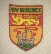 New Brunswick Canada Patch -  vintage
