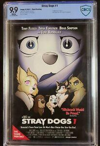 Stray Dogs #1 Third Print Scream Homage CBCS 9.9 MINT