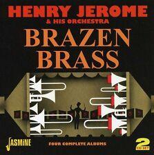 Henry Jerome - Brazen Brass [New CD] UK - Import
