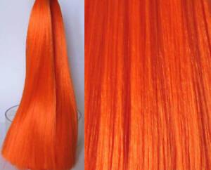 ATOMIC ORANGE Saran Doll Hair for Doll Rerooting/Wig Making Monster High OOAK