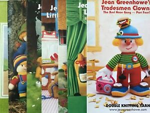 Jean Greenhowe's Character Knitting Pattern Booklets. New.