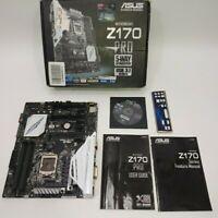 ASUS Z170-PRO LGA 1151 Intel Z170 HDMI SATA USB 3.1 Intel Motherboard -FOR PARTS