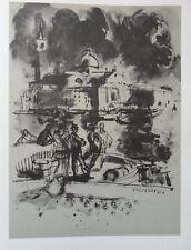 Lucien FONTANAROSA - Venise   - 2 gravures signées #322ex + justificatif
