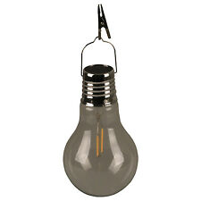 Luxform Lighting LED Solar Filament Glass Bulb