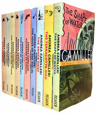 Inspector Montalbano Collection Andrea Camilleri 10 Books Set The Shape of Water