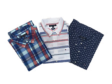 NWT Tommy Hilfiger Men's Short Sleeve Button Up Shirt (Various Sizes & Colors)