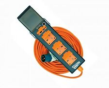 Mains site  extension lead with RCD trip caravan camper van electric hookup USB