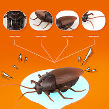 Infrared RC Remote Large Cockroach Scary Creepy Insect Crawling Toy 10m Fun Gift