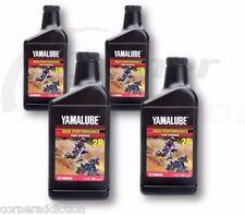 Yamalube 2R 2 Stroke High Performance Racing Oil 4 -16 oz Bottles