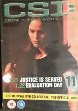 CSI:Crime Scene Investigation-The Official DVD Collection-Disc 11 SEALED/NEW