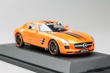 MERCEDES-BENZ SLS AMG Gran Turismo 5 Edition Orange 2010-2014 SCHÜCO 1/43