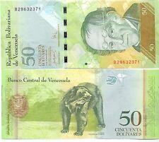 - Venezuela 50 Bolivares 20.03.2007 UNC Pick 92a