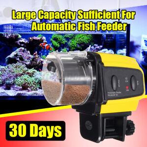 Adjustable Aquarium Automatic Fish Food Feeder Feeding Timer For Fish        9