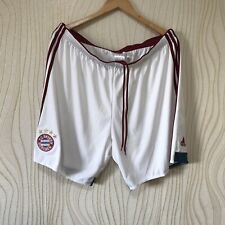BAYERN MUNICH 2014 2015 AWAY FOOTBALL SOCCER SHORTS ADIDAS F48422