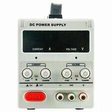 Variable Adjustable Lab DC Bench Power Supply 0-30V/0-10A, 3-Digital LED Display
