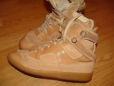 MAISON MARTIN MARGIELA DESIGNER HI-TOP SUEDE/LEATHER TRAINER BOOTS UK 6 EU 39