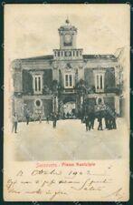 Foggia San Severo Piazza Municipio cartolina VK3560