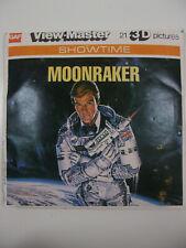 Vintage View Master Reels Moonraker Live And Let Die James Bond 007 Complete