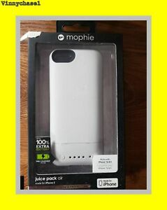MOPHIE JUICE PACK AIR for iPhone 5 and 5s - WHITE Brand new