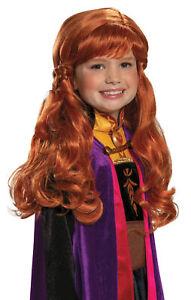Anna Child Wig Costume Accessory NEW Frozen 2