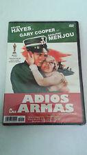 """DVD """"ADIOS A LAS ARMAS"""" PRECINTADA GARY COOPER HELEN HAYES FRANK BORZAGE SEALED"""