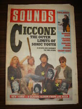 SOUNDS 1989 JAN 21 CICCONE SONIC YOUTH LOU REED JERICO