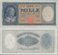 "1.000 LIRE BUSTO D'ITALIA ""MEDUSA""  DEC.25/09/1961 CARLI/RIPA STP"