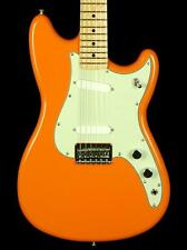 New! Fender MIM Offset Duo-Sonic SS Maple Neck Electric Guitar - Capri Orange