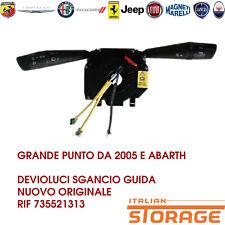 GRANDE PUNTO DA 2005 E ABARTH DEVIOLUCI SGANCIO GUIDA NUOVO ORIGINALE 735521313