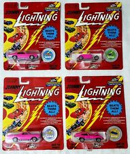 Pink Johnny Lightning Lot Custom GTO 32 Roadster El Camino Custom XKE MIP