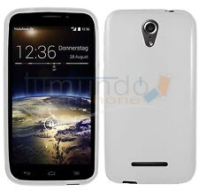 Cover TPU Gel Case White for Vodafone Smart 4 Power in Spain Case