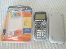 Ti 84 Plus Silver Edition Graphing Calculator With Cover Manual Batteries book
