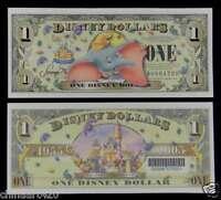 2005 $1 DISNEY DOLLAR  50th Anniversary UNC