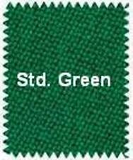 VELOCITY PRO - 8' BED CLOTH & RAILS - Pool Table Cloth - STANDARD GREEN