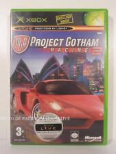jeu PGR PROJECT GOTHAM RACING 2 pour XBOX (first gen) en francais spiel COMPLET