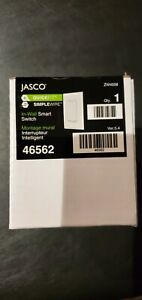 JASCO Z-Wave In-Wall Decor On/Off Master Switch - 46562