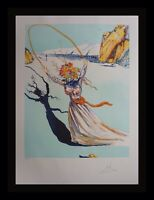 DALI Transcendent Passage Hand Signed Numbered Etching Surreal ART
