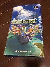 Super Famicom SEIKEN DENSETSU 3  SNES Video Game JAPAN Nintendo