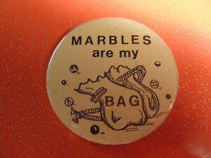 Old marble pin