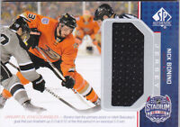 14-15 SP Game Used Nick Bonino Jersey Stadium Series 2014 SPGU