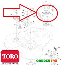 Genuine TORO Timemaster 20975/77 Cutter PULEGGIA FRENO SPINDLE base 130-6664 558